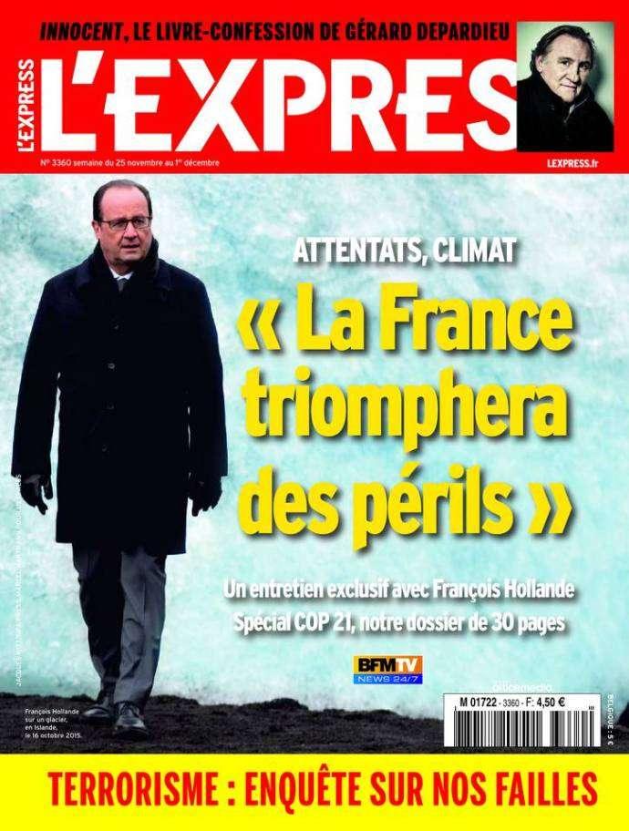 L'Express 3360 - 25 Novembre au 1 Décembre 2015