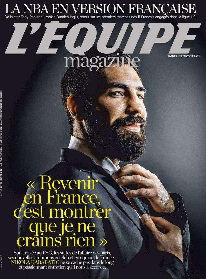 L'Equipe Magazine 1738 du Samedi 7 Novembre 2015