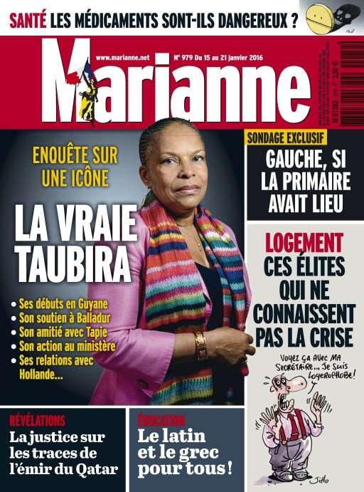 Marianne 979 - 15 au 21 Janvier 2016