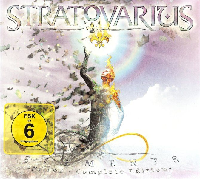 Stratovarius - Elements (?t.1 & 2) (3?D) (Limited Edition Digipak) (2014)