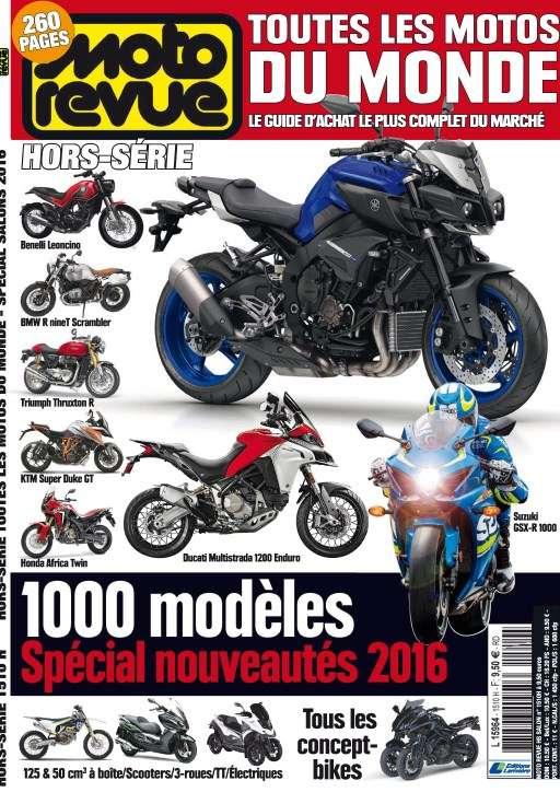 Moto Revue Hors-Série 37 - Spéciale Salon 2016