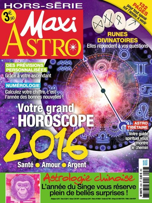 Maxi Hors Série Astro 23 - Année 2016