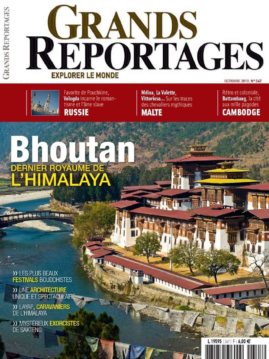 Grands Reportages 347 - Bhoutan : dernier royaume de l'Himalaya