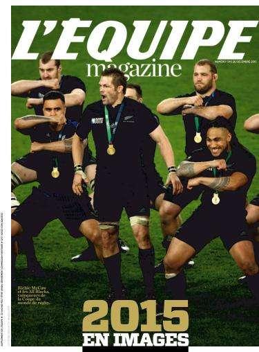 L'Equipe Magazine - 26 Décembre 2015