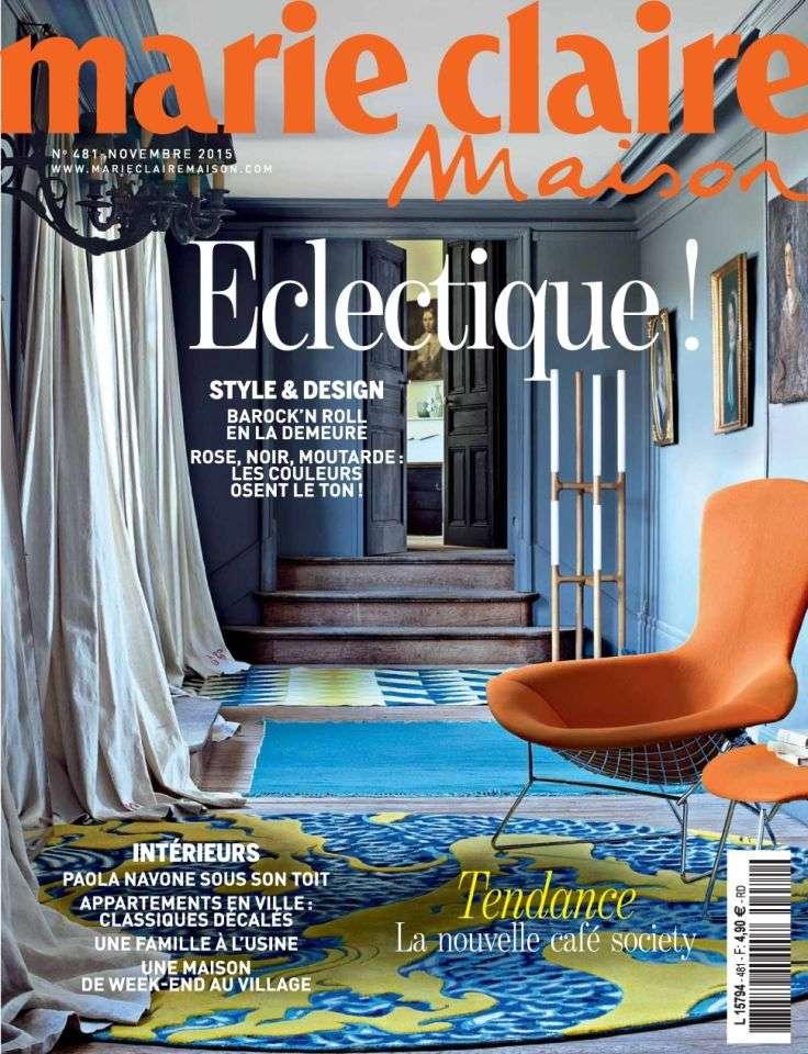 Marie Claire Maison 481 - Novembre 2015