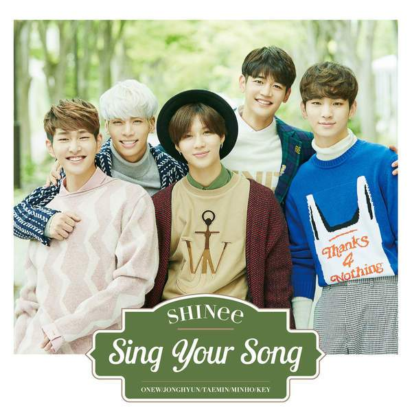 SHINee – Sing Your Song (Full Japanese Single) K2Ost free mp3 download korean song kpop kdrama ost lyric 320 kbps