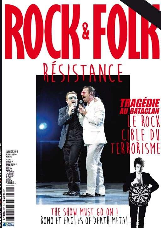 Rock & Folk 581 - Janvier 2016