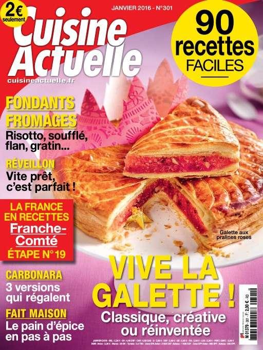 Cuisine Actuelle 301 - Janvier 2016