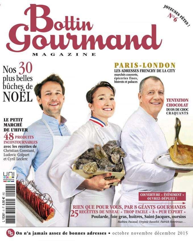Bottin Gourmand 6 - Octobre-Décembre 2015