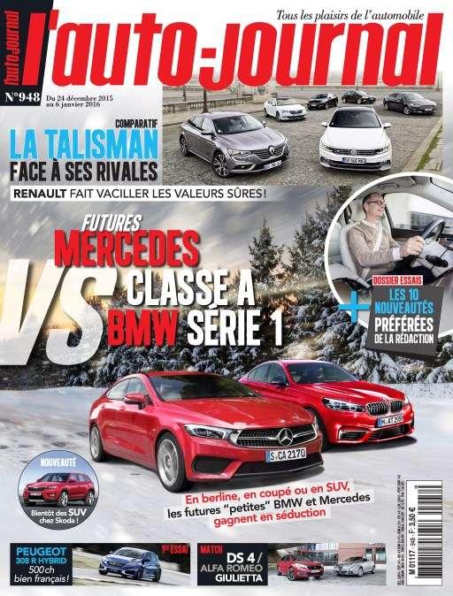 L'Auto-Journal 948 - 24 Décembre 2015 au 6 Janvier 2016