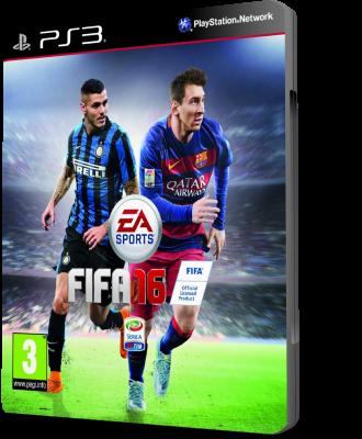 [PS3] FIFA 16 (2015) - FULL ITA