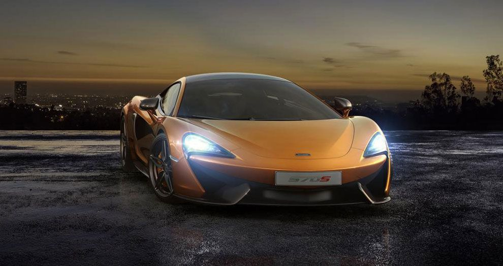 2016 McLaren 570S Coupé