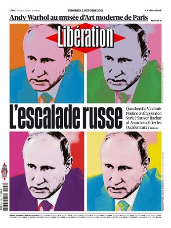 Liberation Du Vendredi 2 Octobre 2015