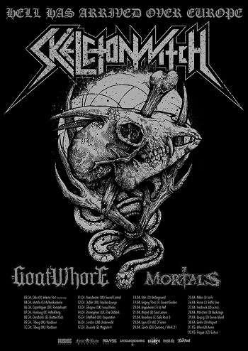 Skeletonwitch European tour