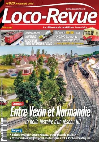 Loco-Revue 820 – Novembre 2015