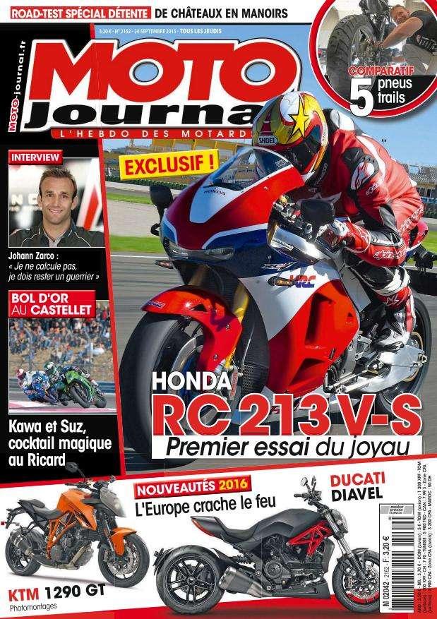 Moto Journal - 24 au 30 Septembre 2015
