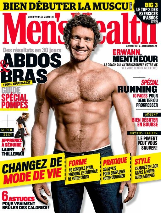 Men's Health 79 - Octobre 2015