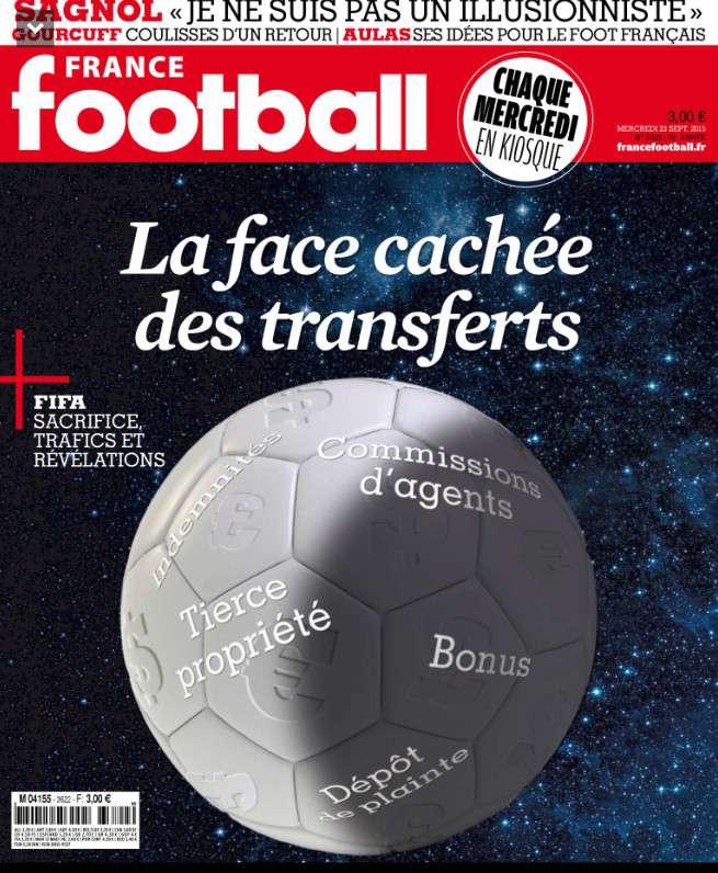 France Football 3622 du Mercredi 23 septembre 2015