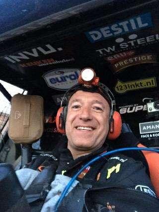 Tim Coronel Rally Libya 2015