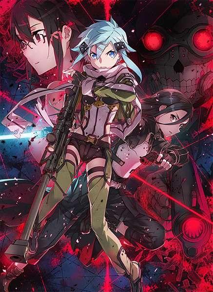 Sword Art Online II  Мастера меча онлайн 2 [2012, TV, 3 из 25 эп.] BDrip 1080p raw скачать через торрент бесплатно