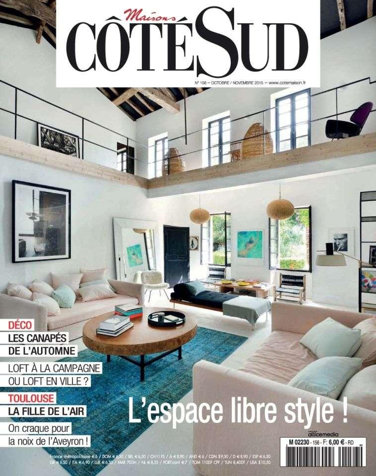 Maisons Côté Sud 156 - Octobre-Novembre 2015