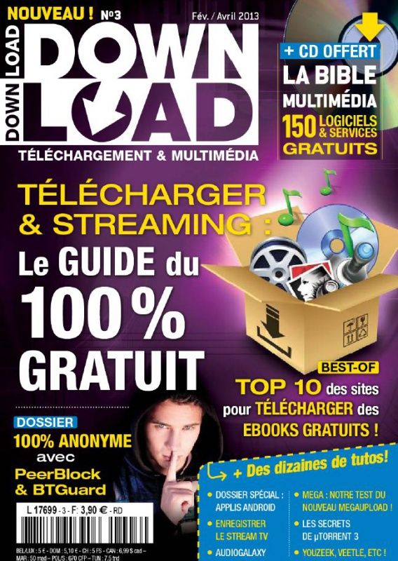 Download 3 - Télécharger & streaming : le guide du 100% gratuit
