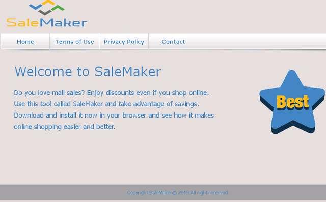 SaleMaker 광고를 제거
