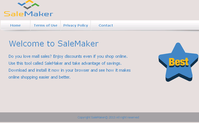 Remover SaleMaker Anúncios