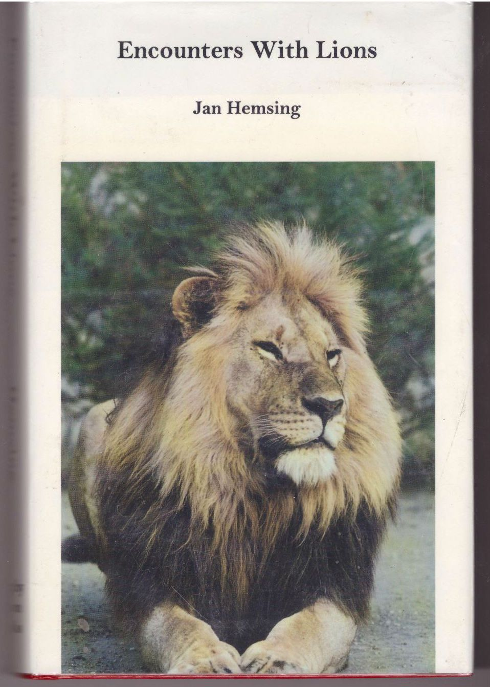 Encounters With Lions, Hemsing, Jan