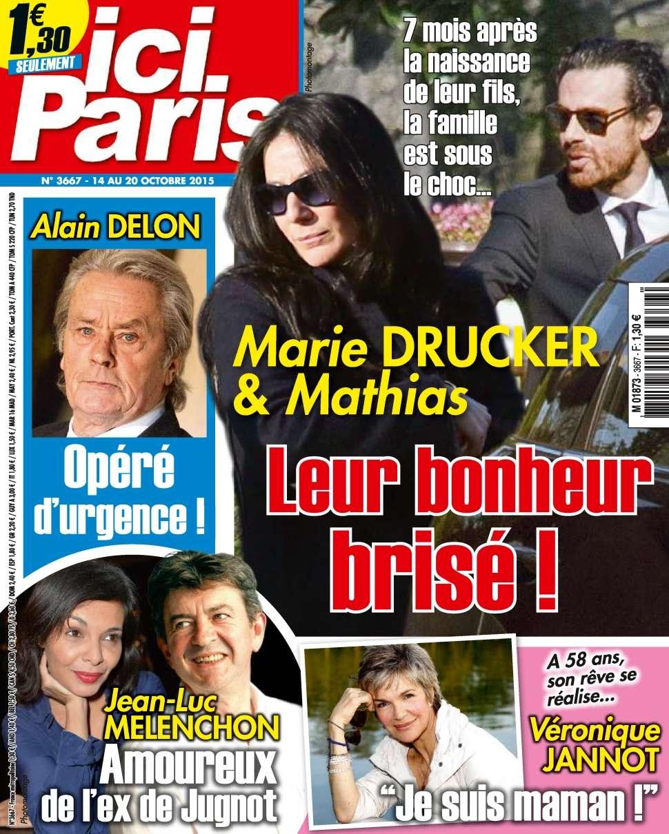 Ici Paris 3667 - 14 au 20 Octobre 2015