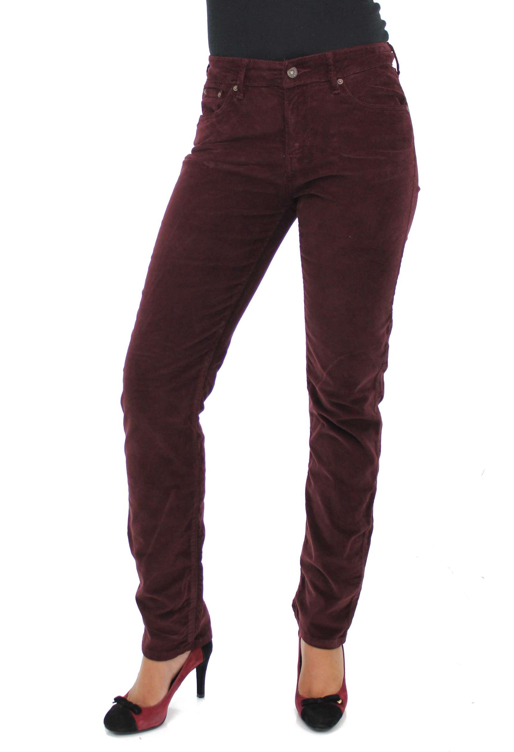 New Leviu2019s Tan Corduroy Demi Curve ID Slim Leg Pants For Women - Choose Your Size | EBay
