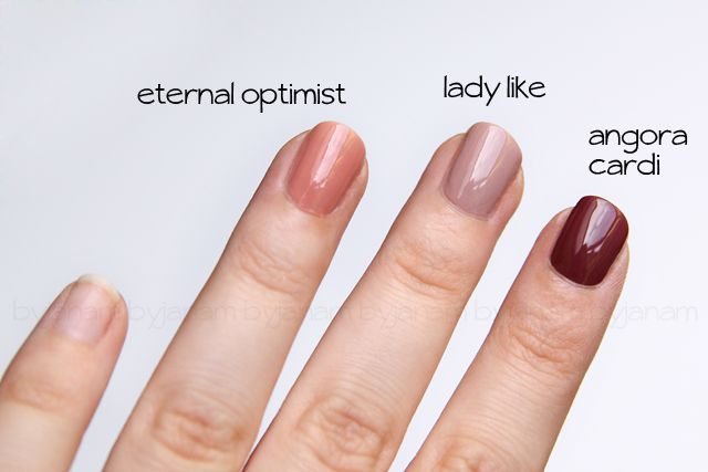 Swatch essie eternal optimist, lady like, angora cardi