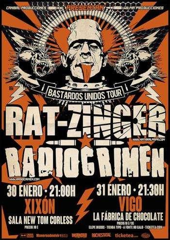 Rat-Zinger y Radiocrimen - fin de semana