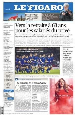 Le Figaro du Samedi 17 & Dimanche 18 Octobre 2015