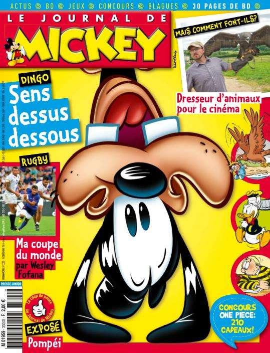 Le Journal de Mickey - 16 au 22 Septembre 2015