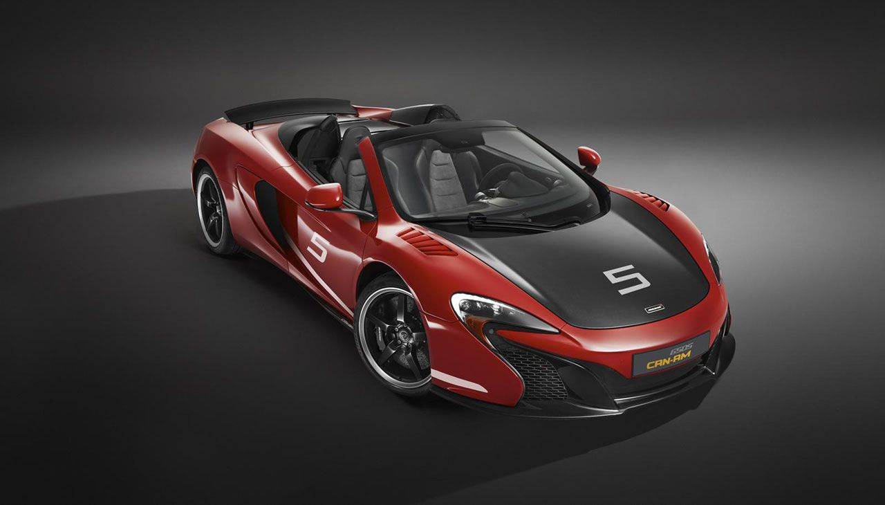 2016 McLaren 650S Spider Can-Am 50th Anniversary Limited Edition