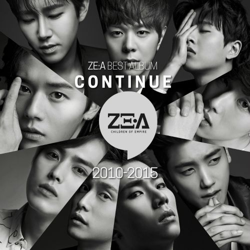 ZE:A - Continue (Full BEST Album From 2010 - 2015) [2CD] K2Ost free mp3 download korean song kpop kdrama ost lyric 320 kbps