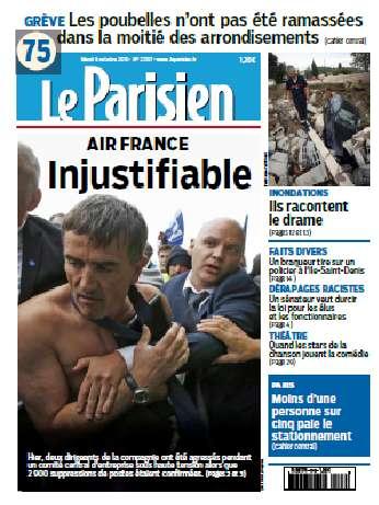 Le Parisien Du Mardi 6 Octobre 2015