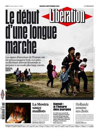 Liberation Du Mardi 8 Septembre 2015