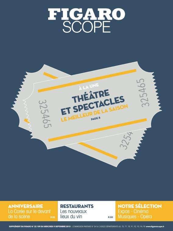 Le Figaroscope - 9 Septembre 2015