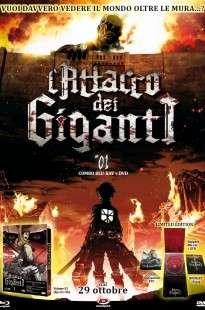 L'Attacco Dei Giganti -Il Film-Parte 1- L'Arco E La Freccia Cremisi (2014) DVD9 Copia 1:1 ITA JAP - DDN