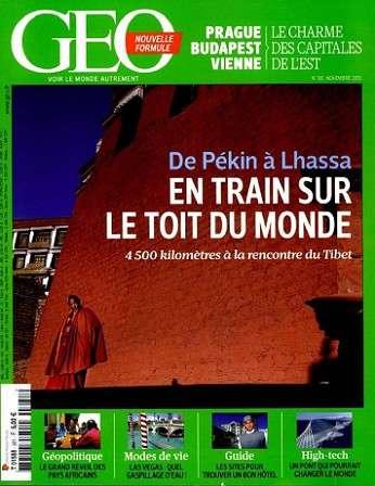 Géo 381 - En train sur le toit du monde