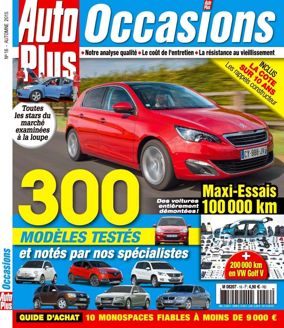 Auto Plus Occasions 16 - Automne 2015