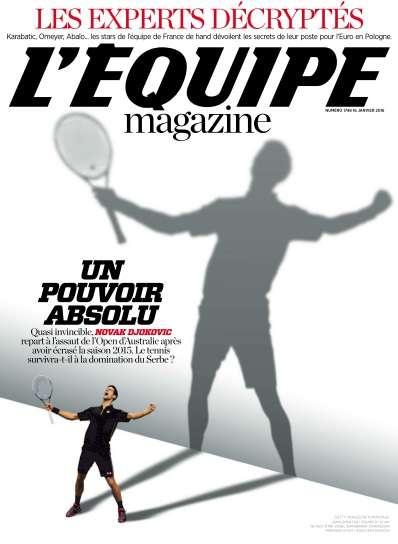 L'Equipe Magazine - 16 Janvier 2016