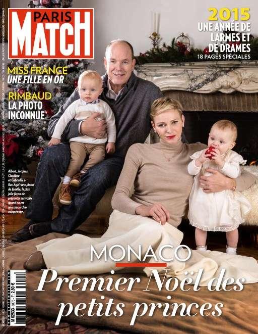 Paris Match 3475 - 24 au 30 Décembre 2015