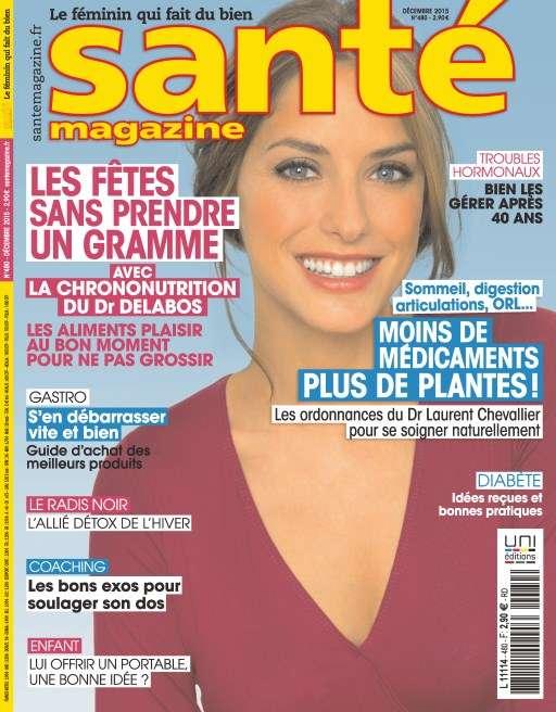 Santé magazine 480 - Décembre 2015