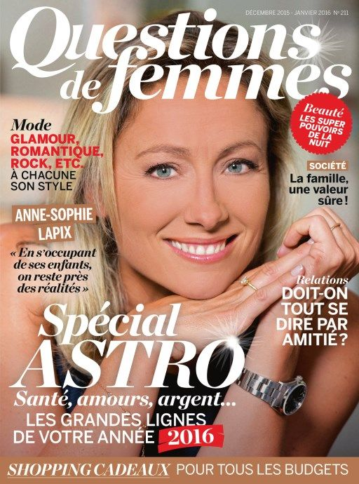 Questions de Femmes 211 - Décembre 2015 - Janvier 2016