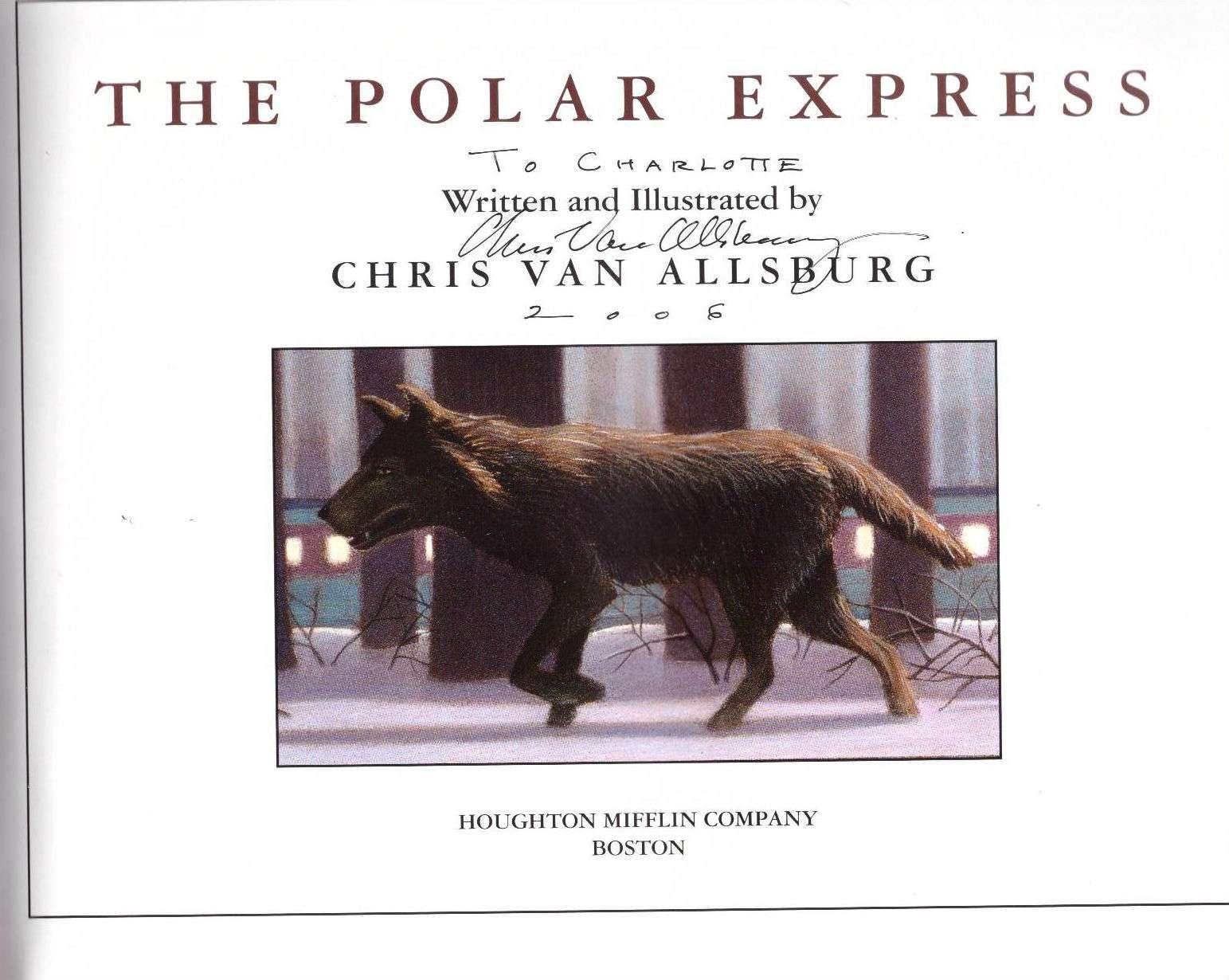 The Polar Express, Chris Van Allsburg