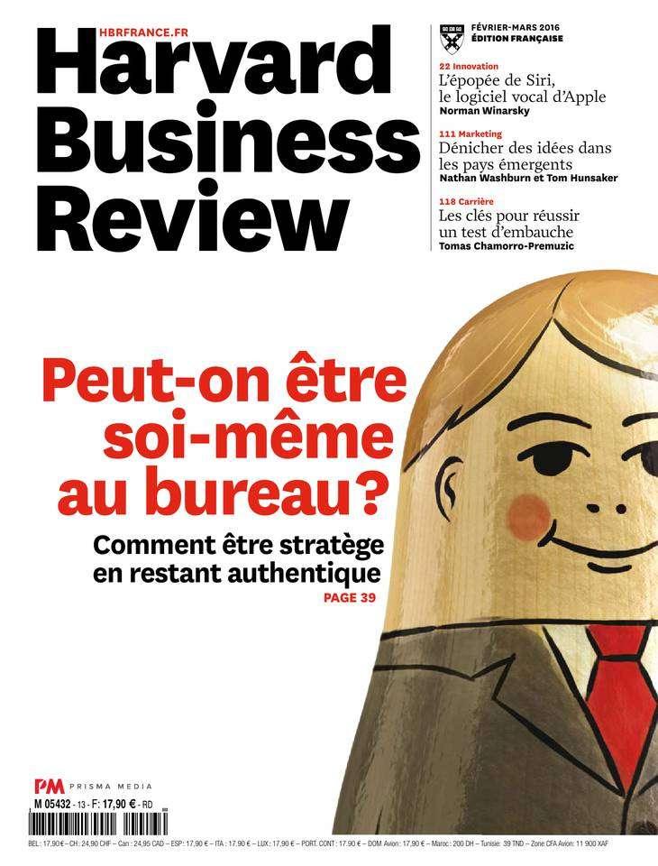 Harvard Business Review 13 - Février-Mars 2016