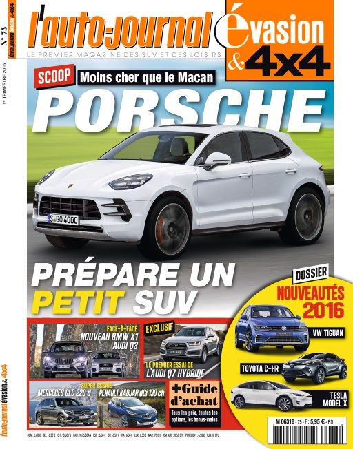 L'Auto-Journal 4x4 No 75 - 1er Trimestre 2016